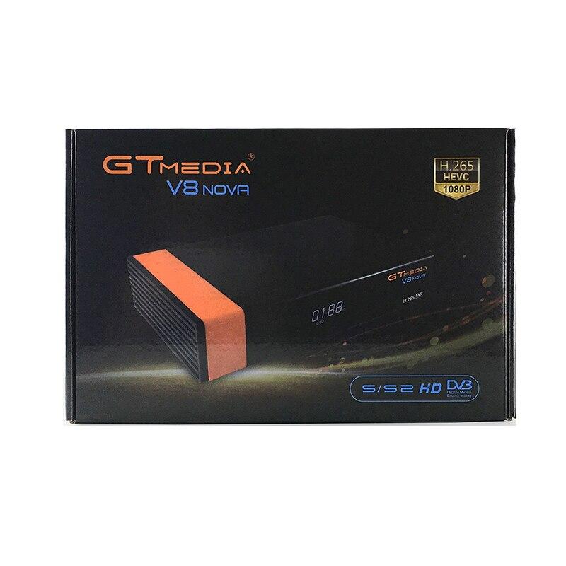 V8 Nova decoder mit 1 Jahr Cline für Europa Freesat GTMedia upgrade V8 Super Full HD DVB S2 Satellite TV Empfänger eingebaute wifi - 6