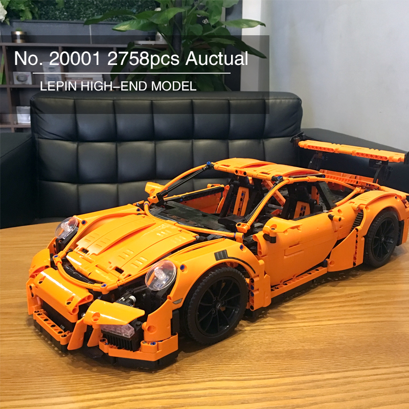 Здесь продается  Lepin Technic Series Race Car DIY Model Set 20001 20001B Compatible 42056 Building Blocks Bricks Birthday Gift Children  Игрушки и Хобби