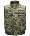 Male Tactical Multi Pocket Camouflage Vest Men Casual Travel Outdoors Waistcoat Cotton Sleeveless Jacket Camo Fish Hunt Vests