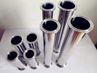 Free Shipping 4(102mm)OD119mm Sanitary Stainless Steel 304 Tri Clamp Pipe, Length 12(300mm)