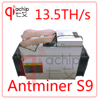 Brand New AntMiner S9 13 5T Bitcoin Miner With Power Supply Asic Mine 16nm Btc Miner