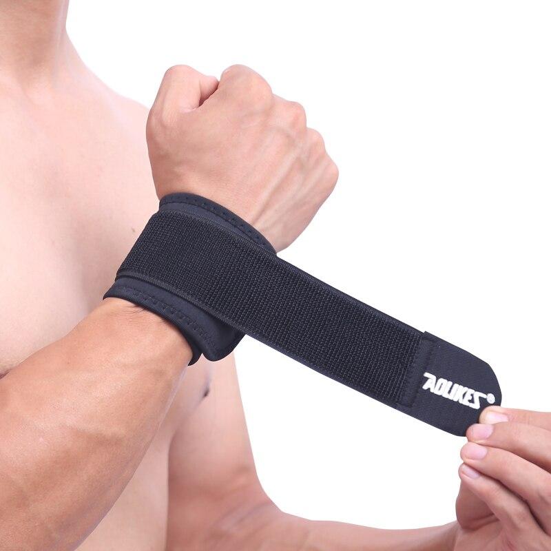 Aolikes 1pcs Cotton Elastic Bandage Hand Sport Wristband Gym