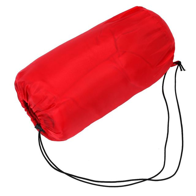 Outdoor Waterproof Travel Envelope Sleeping Bag Camping Hiking Carrying Case Red