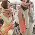 Autumn Winter 2016 Fashion Knitted Scarf New Designer Basic Women's Scarves F03