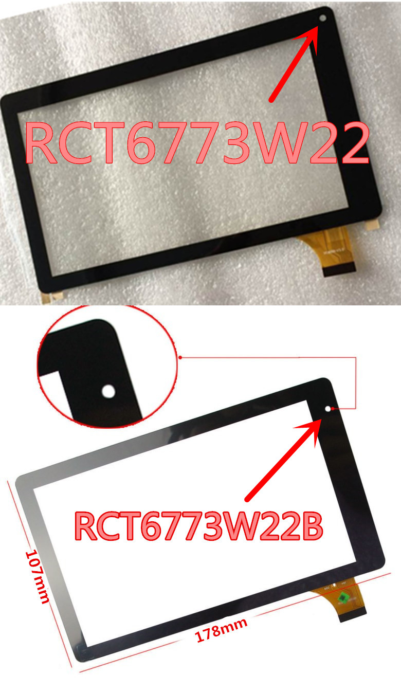 New Touch Screen Digitizer panel for RCA Voyager II RCT6773W22B 7/'/' Tablet  USA