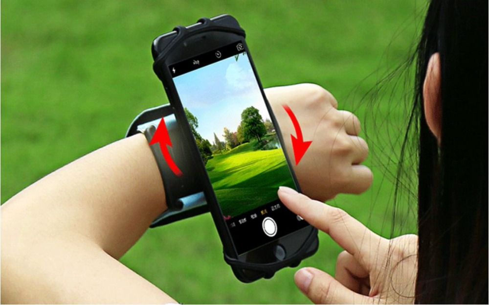 SzBlaZe Professional Rotatable Running Bag Wrist Band Arm cell phones Holder Sport pocket accessories For Gym Fitness Jogging 21