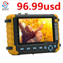 5 дюймов TFT ЖК-дисплей HD 5MP TVI AHD CVI CVBS аналоговая камера безопасности тестер монитор в одном CCTV тестер приставка камера-тестер IV8W