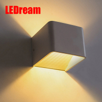 LEDream LED Wall Lamps 5W 9W 12W 20W AC85 265V Modern Aluminum Material Bedroom Lights Indoor