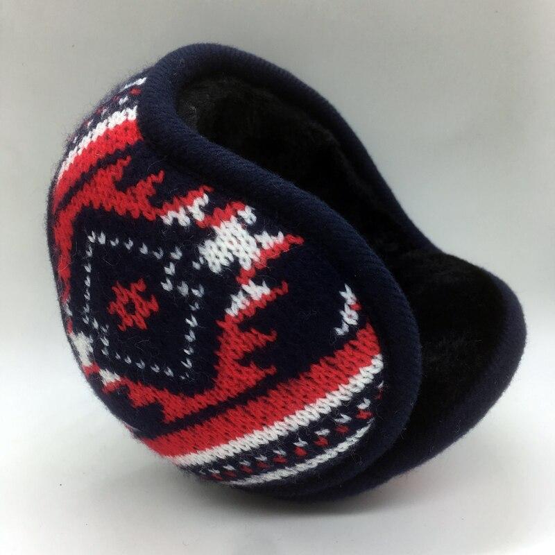 2018 New Style Winter Warm Adjustable Earmuffs  Knitting Earcap