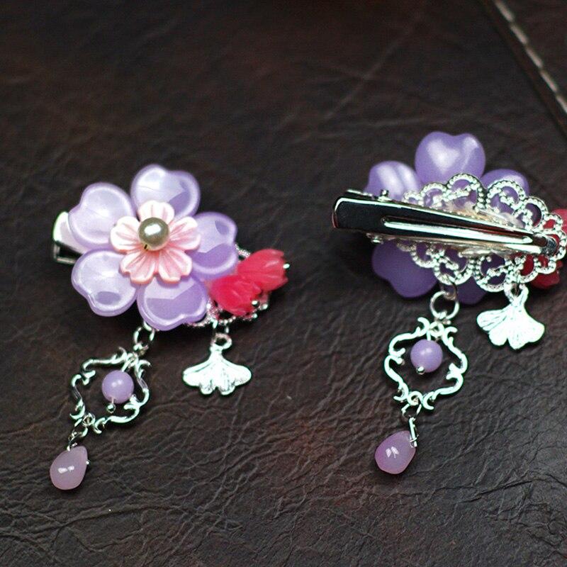 1 pc Fashion Girl Wedding Hair Jewelry Cat eyes and mermaid love Hair clip Flower Hiar clips Accessories in Hair Jewelry from Jewelry Accessories