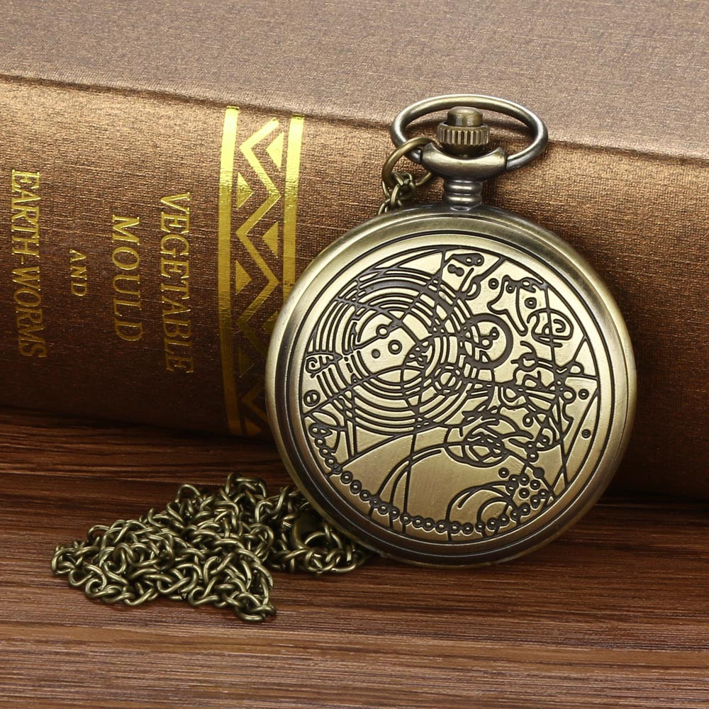 dc733bc32b9 O Maior Relógio de Bolso Colar de Corrente Retro do vintage Para O Vovô Pai  Presentes 10.2