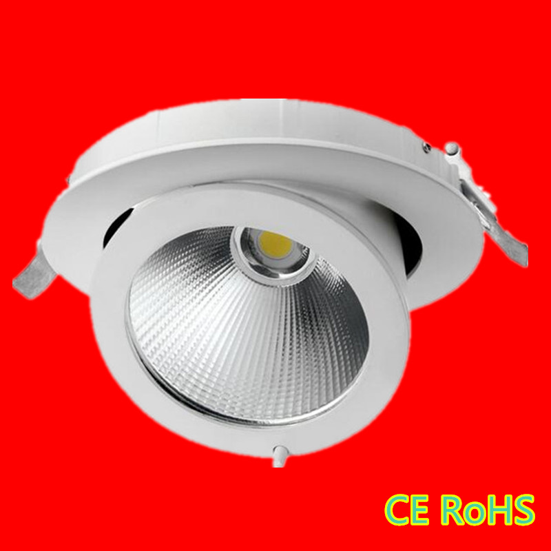 High Power COB LED Recessed Downlights 15W 30W 50W Warm Cold White  Adjustable LED Track LightCompare Prices on Recessed Track Lighting  Online Shopping Buy Low  . Recessed Track Lighting Prices. Home Design Ideas