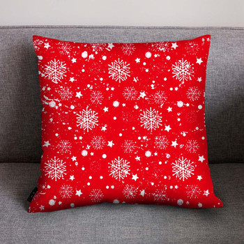 45x45cm Christmas cushion cover Halloween pillowcase cotton linen tree New Year decorative pillows for sofa cushion cover 2019 4
