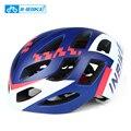 INBIKE Мужской MTB дорожный шлем для горного велосипеда велосипедный шлем интегрально-литый шлем безопасные велосипедные аксессуары легкий 255g