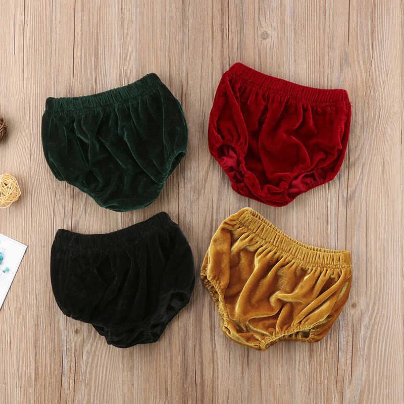 2019 fondos de terciopelo para bebés y niñas, pantalones cortos para niñas, ropa interior para pañales, ropa interior de verano para niños, disfraz de bebé para niñas
