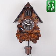 Fashion silent watch music timekeeping fashion personality wall cuckoo clock