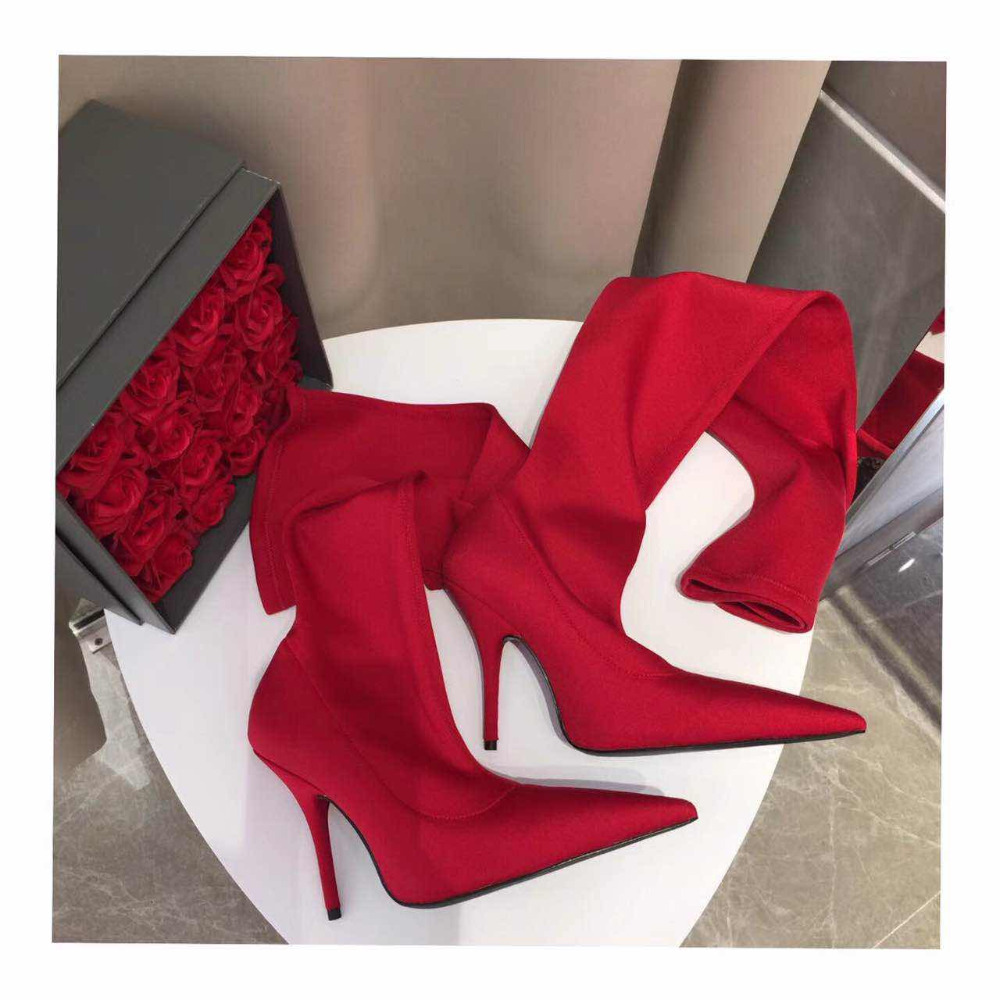 shaduo fashion women top quality flower print high thin heels pointed toe over-the-knee boots, women top quality long boots high quality women shoes fashion pointed toe nubuck leather boots over the knee slip on high thin heels long boots for women