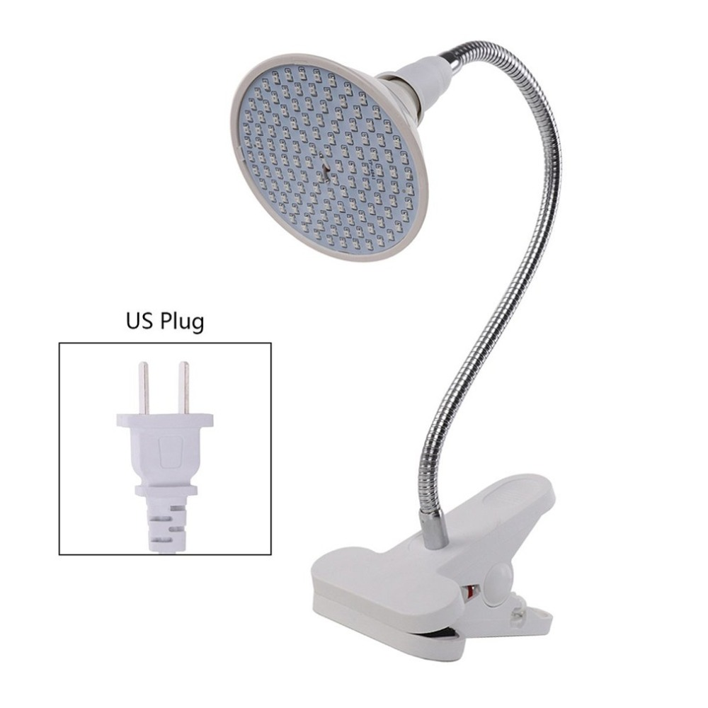 Indoor Flexible Clip Design LED Plant Growth Light Bulbs for Flower Vegetable Greenhouse Hydroponics
