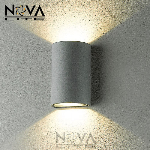 Up down contemporary outdoor wall lamp bridgelux 10w cob led wall light ip54 exterior lighting for Contemporary exterior wall lights