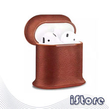 For Airpods Cover Apple Wireless Bluetooth Headset Charging Cover Protective Cover very good quality leather Material(China)