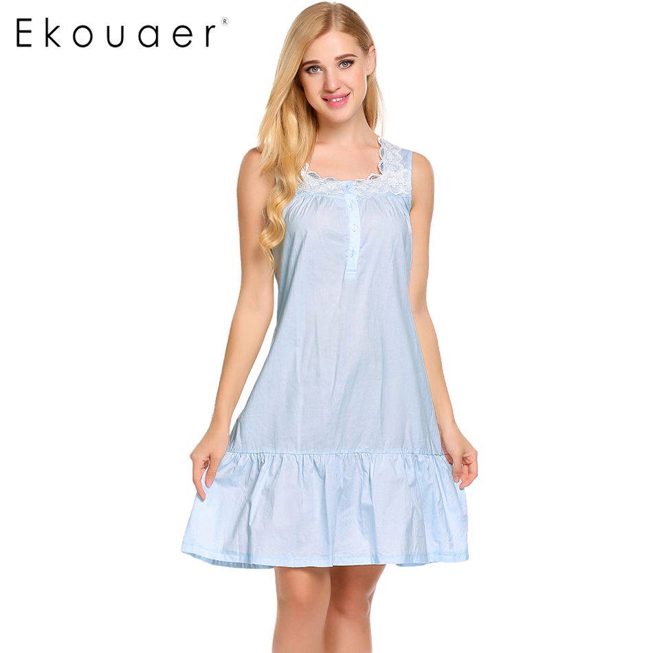 Image result for ekouaer cotton nightgown