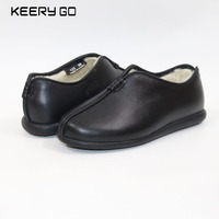 New Leather Soft Comfortable Flat Bottom Shoes