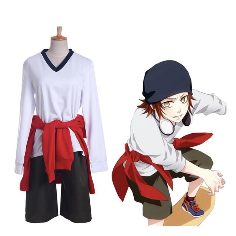 Anime K Missing Kings Cosplay Costume Yata Misaki Uniform Cosplay Costume Halloween Carnival Party Customized