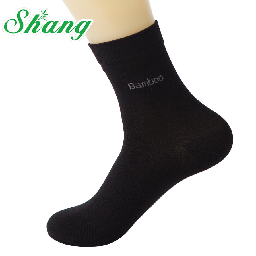 BAMBOO WATER SHANG Men Bamboo fiber thin socks mens elite casual Business socks deodorization Natural antibacterial LQ-32