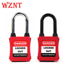 NT-38SD NT-38PD 38mm ABS OEM Color Dustproof Osha Standard Safety Lockout Padlock