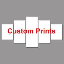 Prints Customized DIY Modular Canvas HD Painting Home Decor 5 Pieces Sacred Om Symbol Posters Buddha Assassins Creed Custom Made