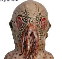 X-MERRY игрушка страшная латексная маска осьминога Доктор Кто фильм ужасное отвращение Хэллоуин Карнавал косплей вечеринка опора