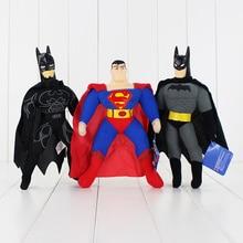 1PCS 24 27cm 3 Styles High Quality Plush Toy Batman Superman Hot Sell Toy Children s