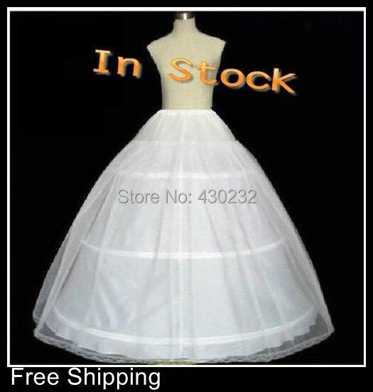 Stock11 точка горячая Распродажа 50% скидка 3 обруч бальное платье КОСТИ ПОЛНЫЙ кринолин нижняя юбка Свадебная юбка скольжения Новинка