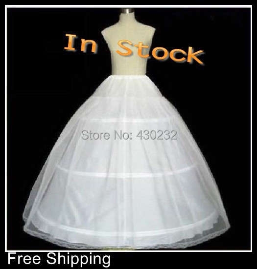 c07b841ab434 Stock11 The Spot Hot Sale 50% off 3 HOOP Ball Gown BONE FULL CRINOLINE  PETTICOAT WEDDING SKIRT SLIP NEW