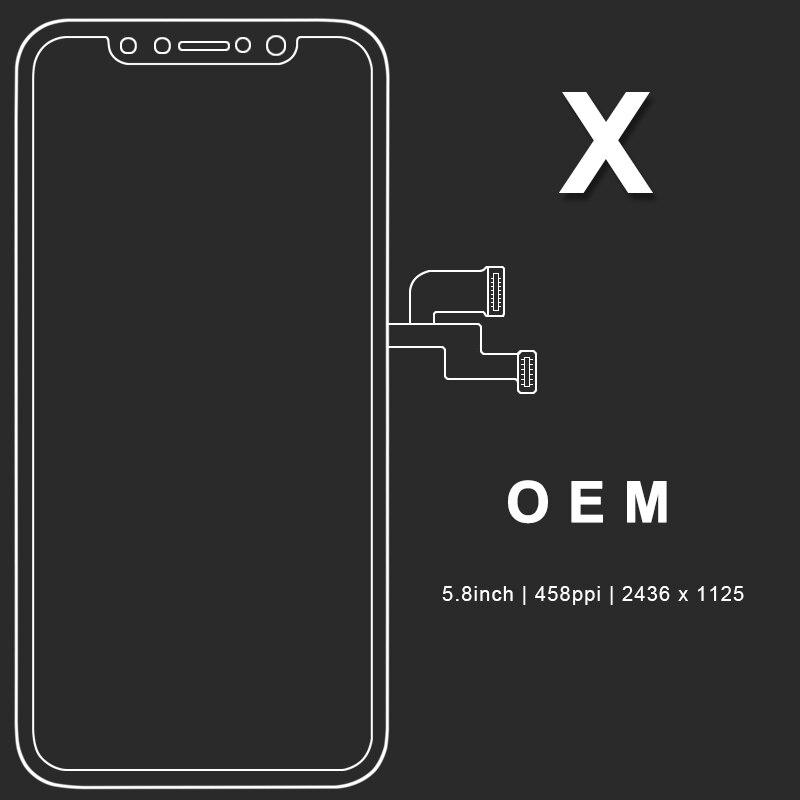 5/шт для AAA & Tianma & OLED & OEM качество 100% новый для iPhone X XS XR XS MAX 11 ЖК-дисплей сенсорный экран замена дигитайзера лучшее