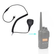 Walkie Talkie Speaker Mic Portable Handheld 2 Pin Shoulder Remote PTT For Midland Two Way Radio GXT550/650 GXT1000 GXT1000VP4 hm 131 speaker mic for handheld radio t7 w32
