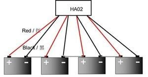 Image 4 - バッテリーイコライザー HA02 バッテリー用 4 個 12V バッテリー接続でシリーズ 48V バッテリーシステムソーラーシステム