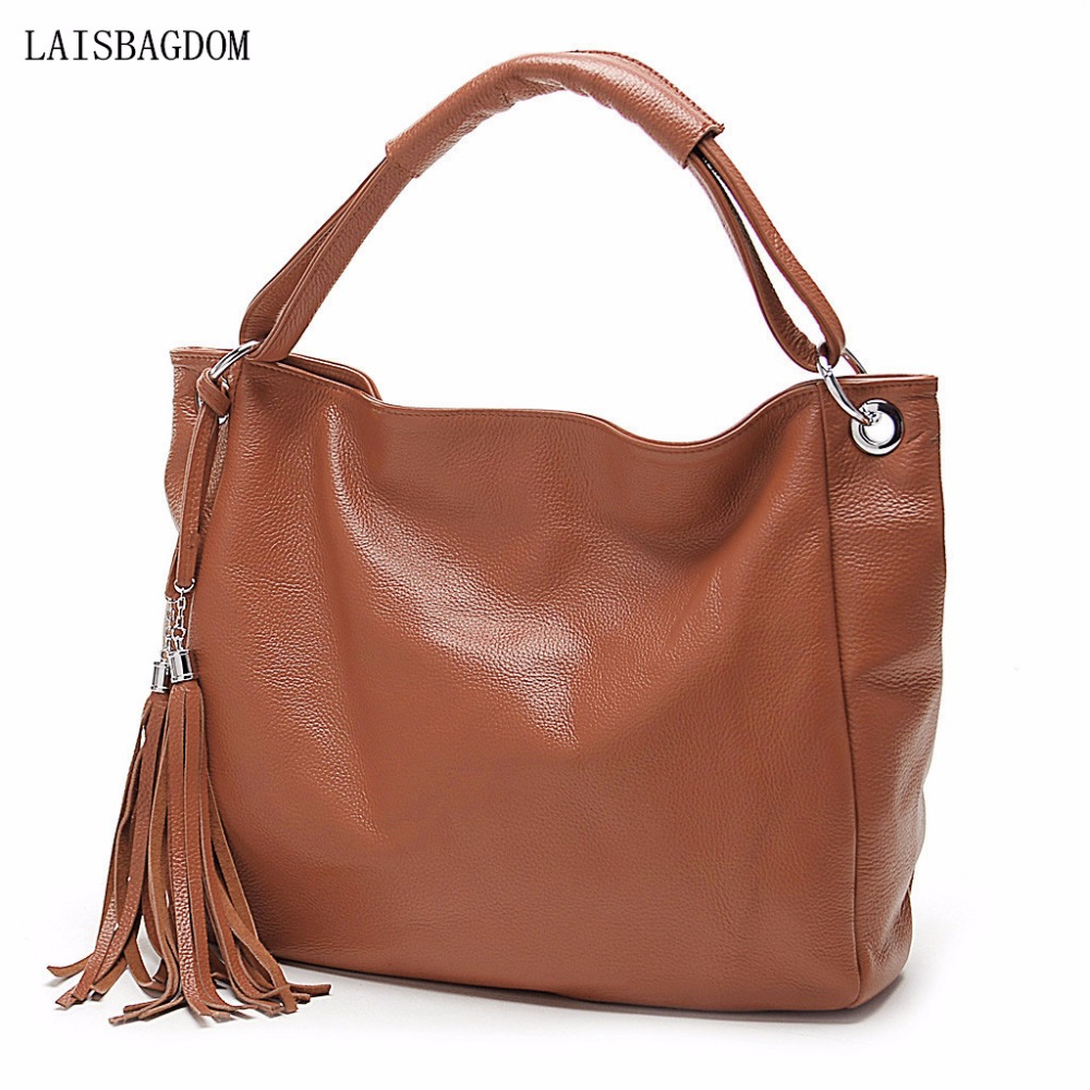 2017 New Arrival Leather Bag Women Fashion Tassel Handbag Shoulder Bag Woman 2017 Summer Tote Bags for Women with Tassels