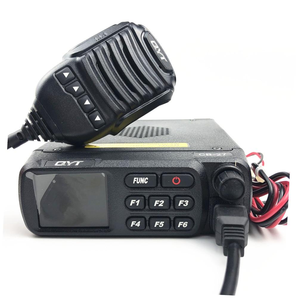 QYT CB 27 CB Radio 26 965 27 405MHz AM FM 12 24V 4 W LCD