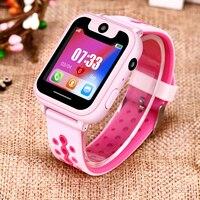 BANGWEI Smart Horloge kinderen Smart Horloge Kind Baby Horloge SOS Oproep Locatie Finder Locator Tracker Anti-verloren Display + Box