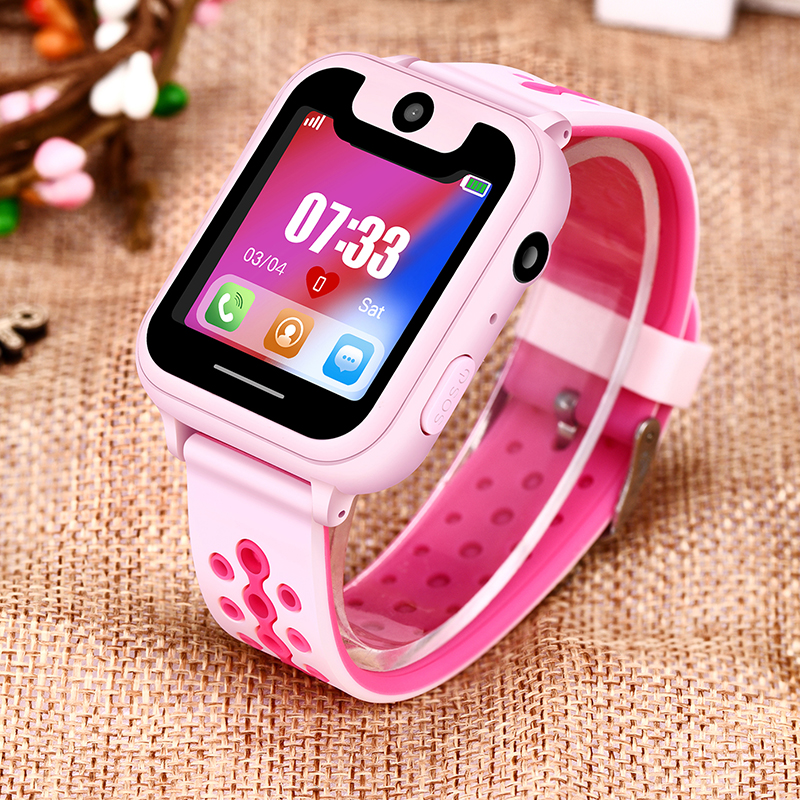 BANGWEI Smart Watch Children's Smart Watch Child Baby Watch SOS Call Location Finder Locator Tracker Anti-lost Display + Box