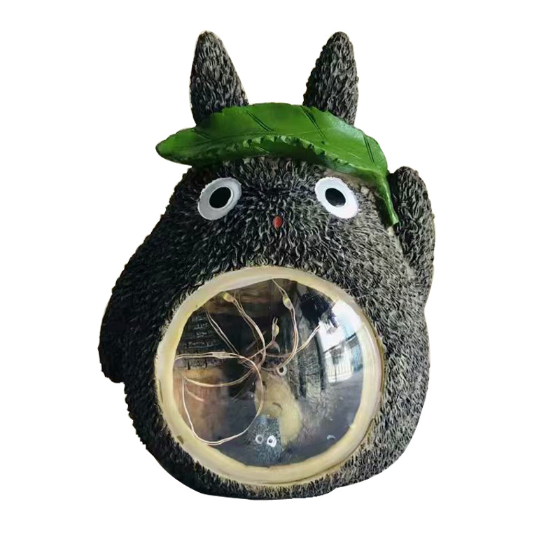 Modern Totoro Night Light Anime Resin Night Light Cute Child Baby Room Decoration Lamp Christmas Gift