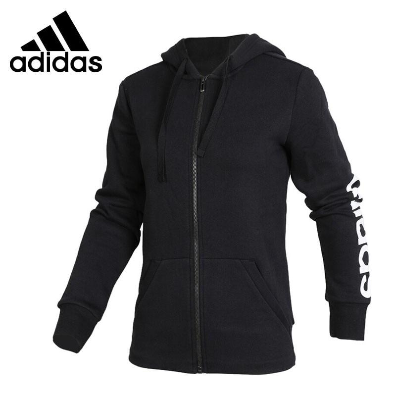Original New Arrival Adidas ESS LIN FZH FL Women's jacket Hooded Sportswear футболка lin show 367