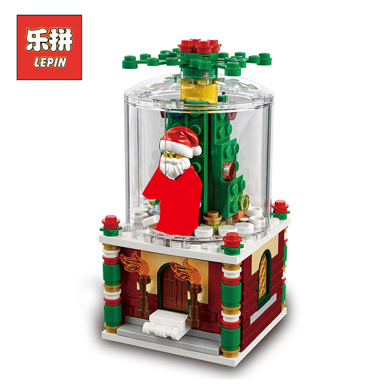 Lepin 36004 Creative Series the Christmas Glass Ball Set Model Building Blocks Bricks Educational Toy Children Gift 40223 lepin building blocks stick diy lepin toy plastic intelligence magic sticks toy creativity educational learningtoys for children gift