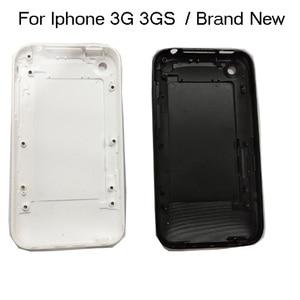MQNLQ корпус для iPhone 3G 3GS, 8 ГБ 16 ГБ 32 ГБ, аккумулятор, корпус двери, задняя крышка, мобильный телефон, белый или черный