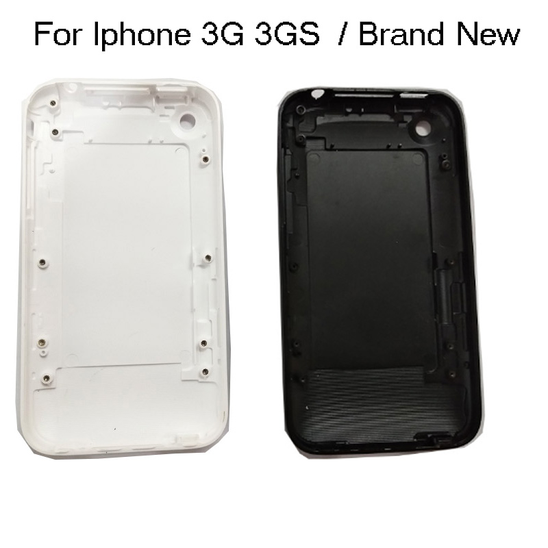 MQNLQ For IPhone 3G 3GS Housing 8GB 16GB 32GB Battery Door Housing Back Cover Case Mobile Phone White Or Black