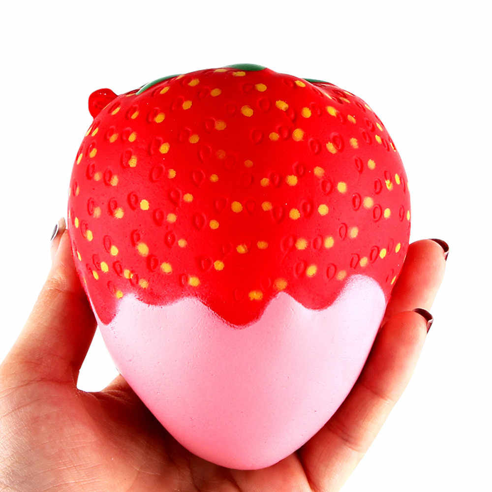 11.5cm תות ריחני רטוב איטי עולה צעצועי צעצועים משכך מתח ג 'מבו אוסף sorpresas דה cumpleaños infantiles