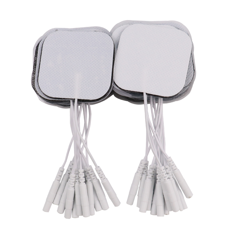 100pcs Self Adhesive Gel Electrode Pads For Electrical EMS Stimulator Tens Acupuncture Therapy Massager Slimming Massage Patch 10pcs adsorption paste shuboshi electrode patch apply instrument for acupuncture electrical massage device electrode pads