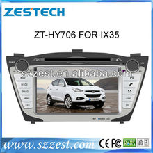 ZESTECH  car DVD support DVD, VCD, CD, CD-R GPS for Hyundai IX35 car dvd player Mp3 MP4 Ipod Connectivity MP5 player