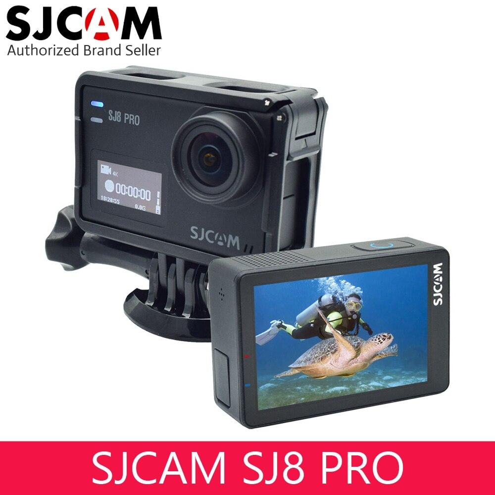 SJCAM SJ8 Pro OLED Real 4 k 60fps caméra d'action résistante à l'eau, grand écran tactile Ultra Full HD, EIS stabilisé avec micro externe